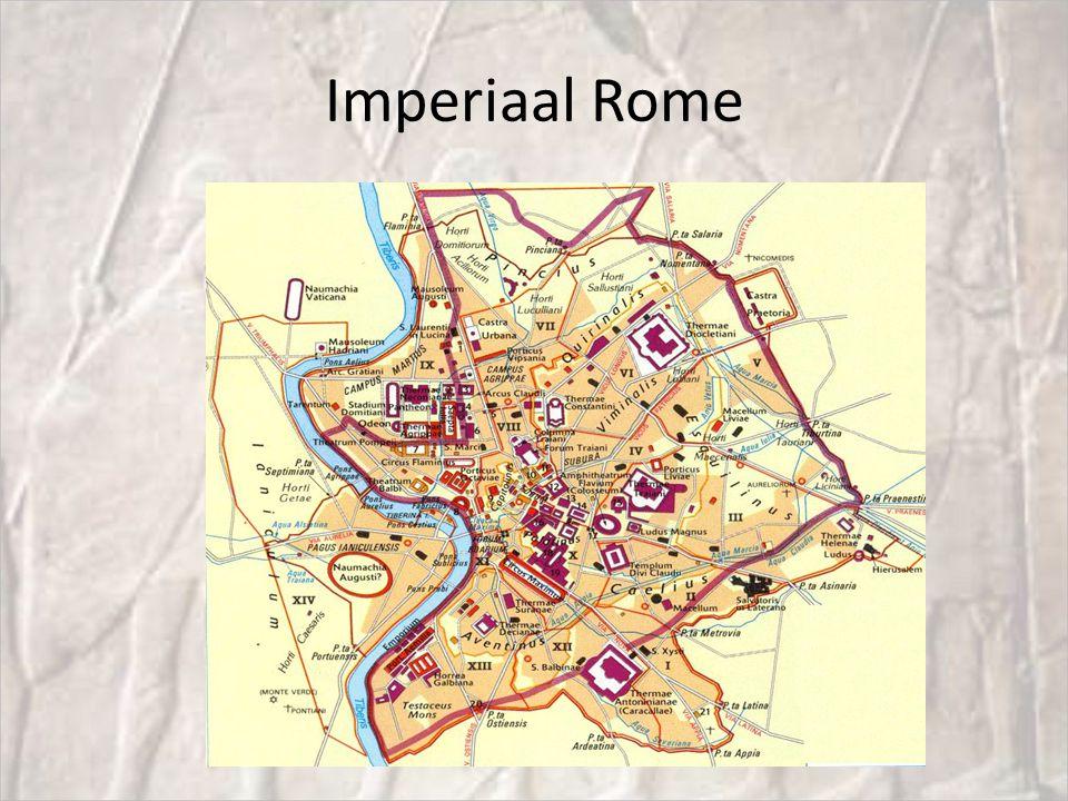 Ontwikkeling stad Rome 753 vChr legendarische stichting van Rome; Romulus en Remus Ong 600 v.Chr.
