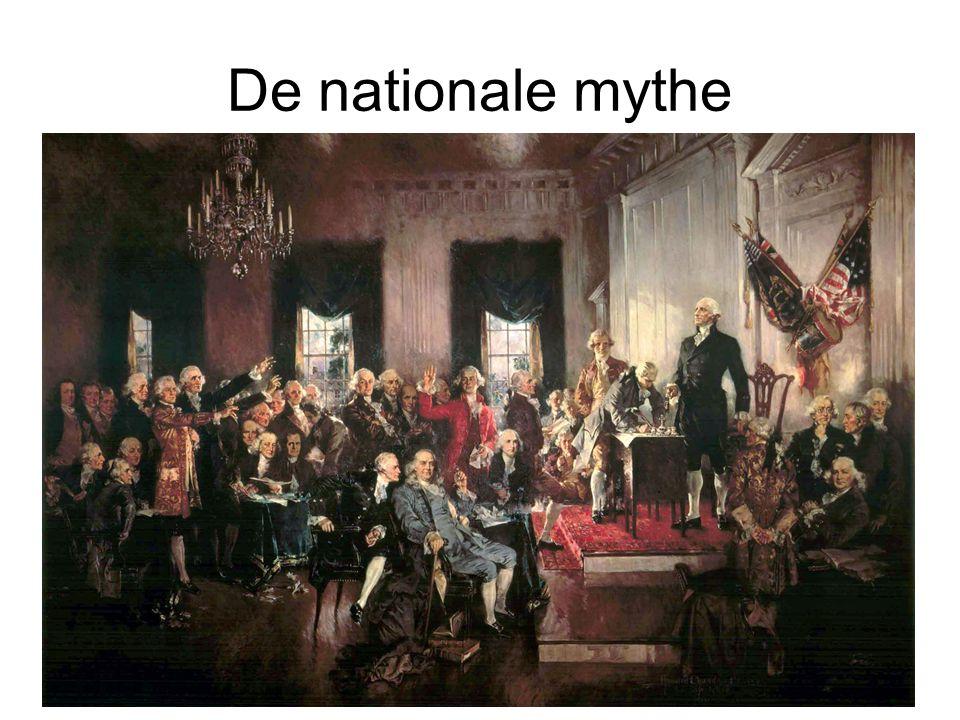 Structuur 1)De revolutie en de constitutionele conventie 2)De grondwet en de verdeling van machten 3)Staatsinrichting en historische ontwikkelingen 4)Conclusie