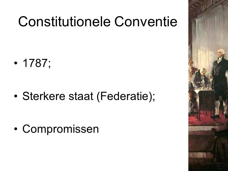 Constitutionele Conventie 1787; Sterkere staat (Federatie); Compromissen