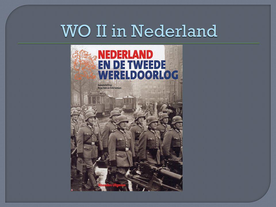 -Nederland inschakelen in de Duitse oorlogsindustrie -Nederland nazificeren -Jodenvervolging Nederland had tijdens WO II een burgerlijk bestuur o.l.v.