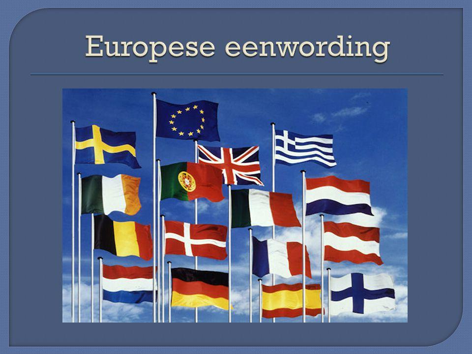 -Nieuwe wereldoorlog voorkomen -Europees nationalisme voorkomen -Protectionisme jaren '30 had de crisis alleen maar verergerd -VS bevordert d.m.v.