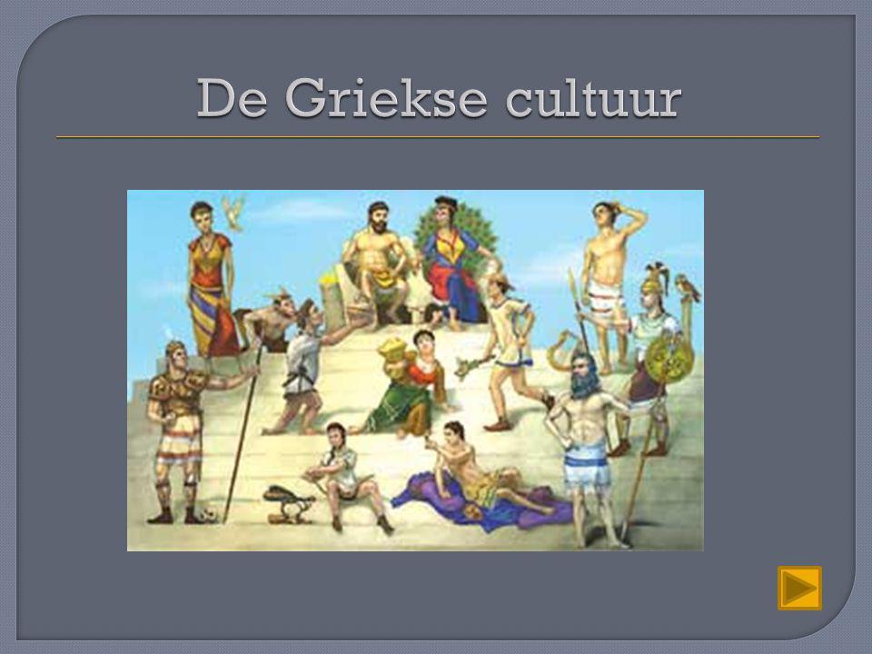 Volgens de Grieken was het ontstaan van de kosmos en alles wat daar gebeurt het werk van de goden Grieken hebben een polytheïstische natuurgodsdienst.
