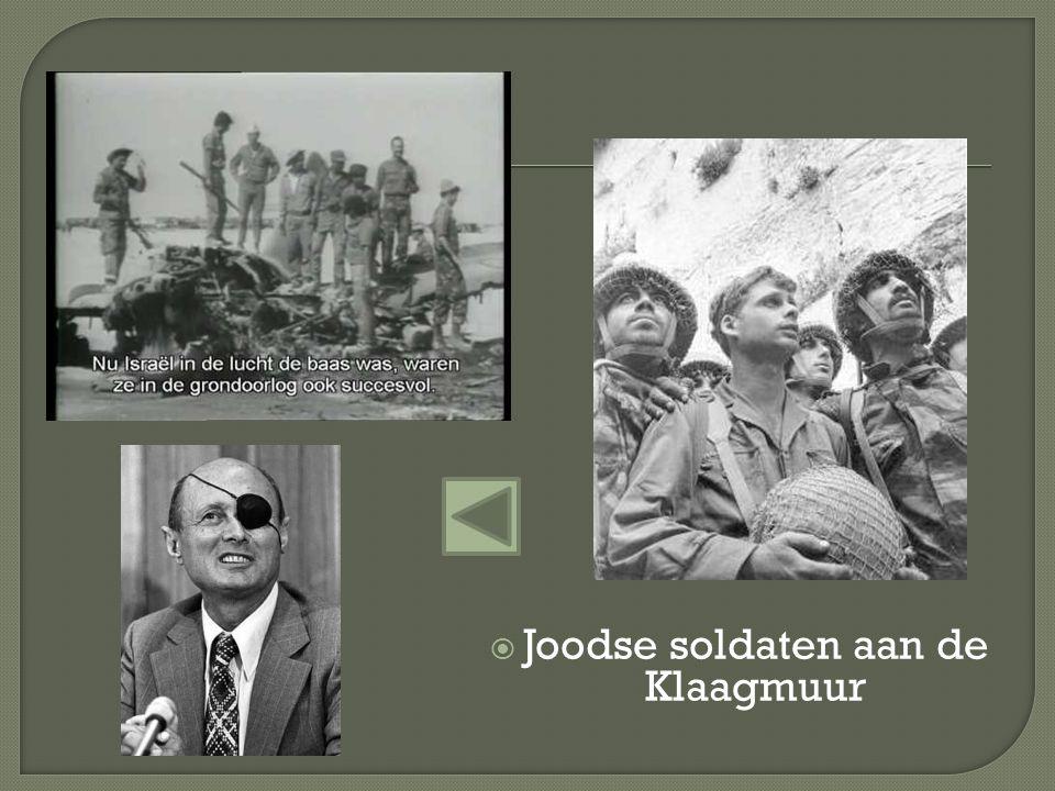  Joodse soldaten aan de Klaagmuur