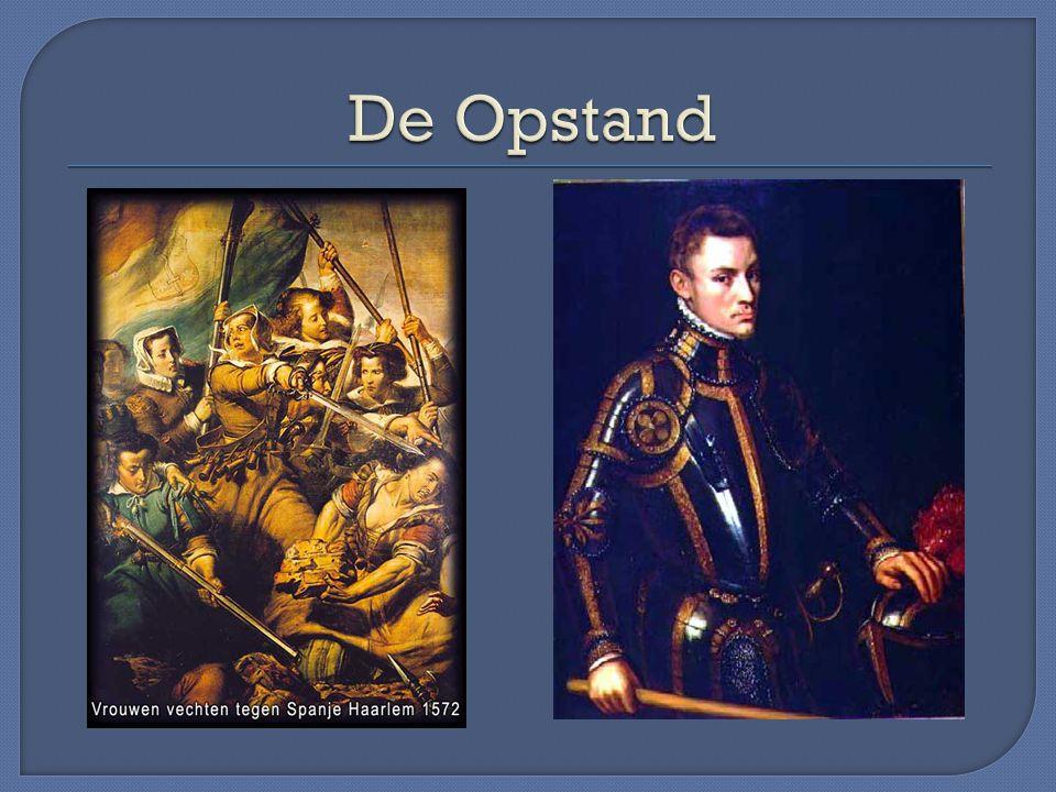 In de gewesten van Karel V overheerste het particularisme.
