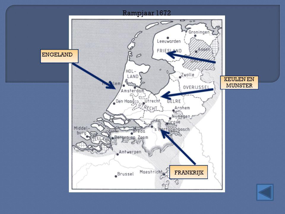 Rampjaar 1672 FRANKRIJK ENGELAND KEULEN EN MUNSTER