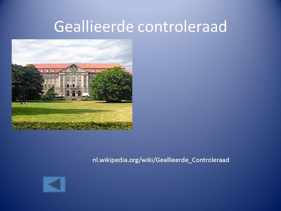 Geallieerde controleraad nl.wikipedia.org/wiki/Geallieerde_Controleraad