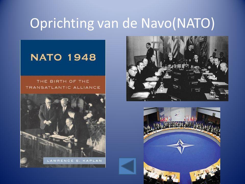 Oprichting van de Navo(NATO)