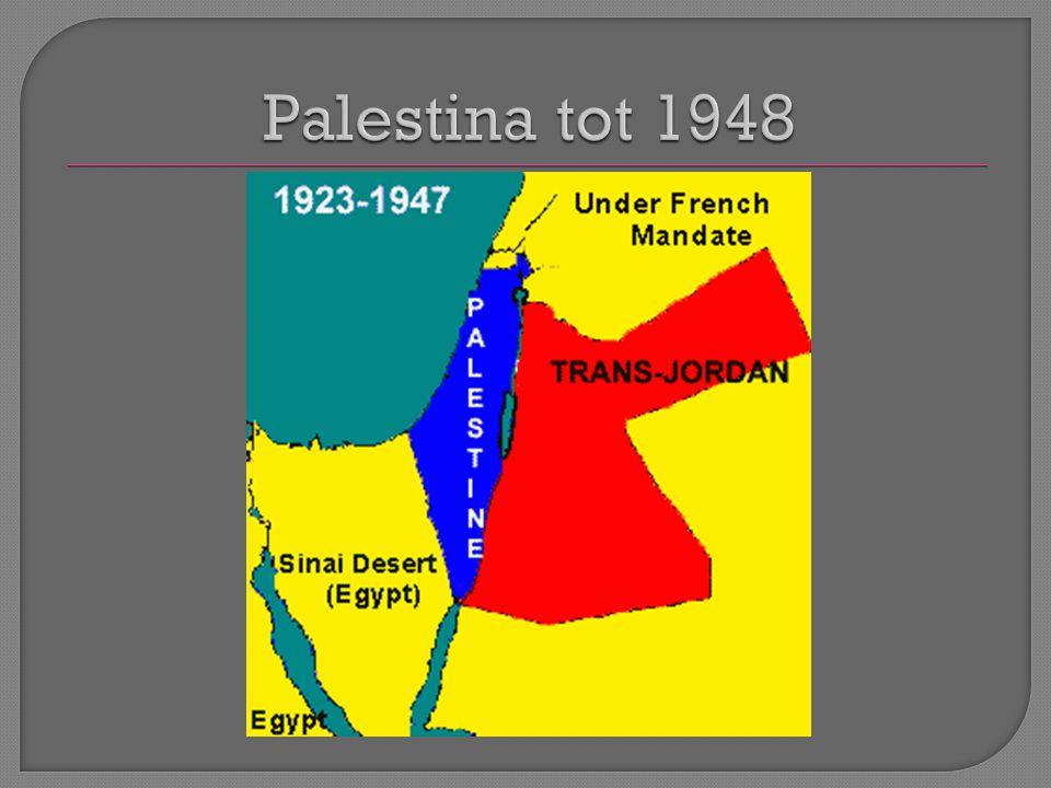 Na 1918 Joodse immigranten naar Palestina.