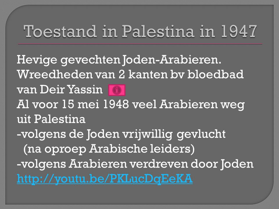 Hevige gevechten Joden-Arabieren.