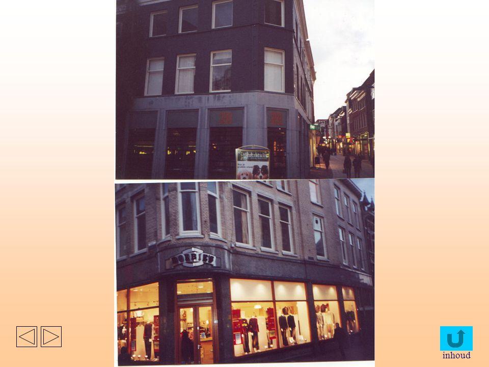 Deze foto's zijn gemaakt in het hart van het centrum van Arnhem. Deze is gemaakt vanuit het midden van een vijfsplitsing. Het zijn allemaal gerenoveer