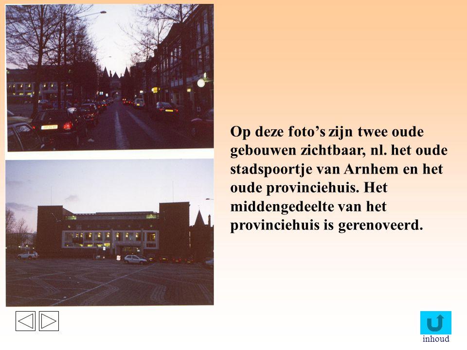 inhoud Op de bovenste foto is het nieuwe gemeentehuis en het oude Tolhuis te zien.