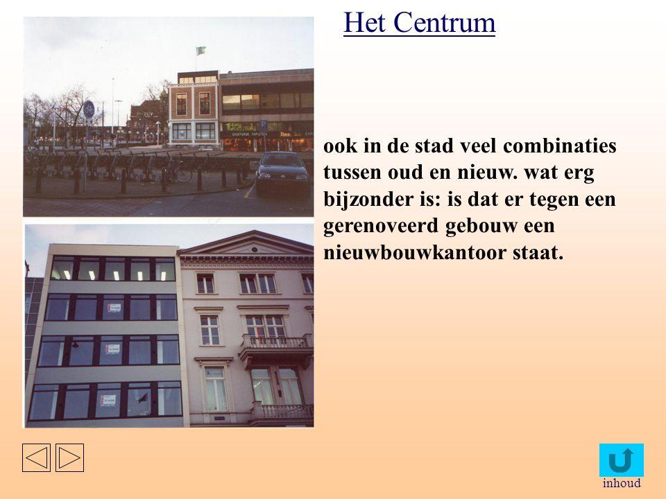 inhoud Hier is de combinatie van clusterwoningen en vrijstaande huizen te zien.