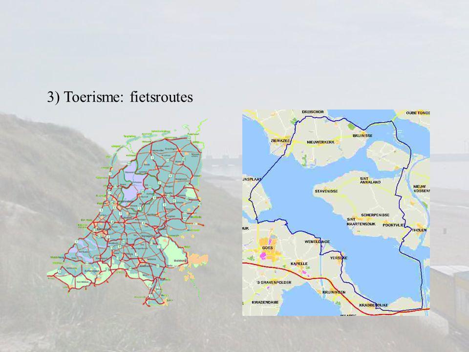 3) Toerisme Nederlandse kustBelgische kust