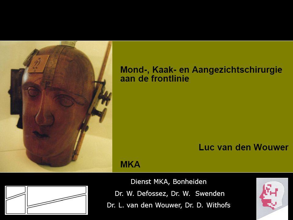 mond-, kaak- en AANGEZICHTschirurgie Faciale esthetiek + littekencorrectie  Orthognatische + Genioplastie, submentale liposuctie, septumcorrectie  Blepharoplastie / otoplastie / rhinoplastie  Face-lift/ browlift littekencorrectie