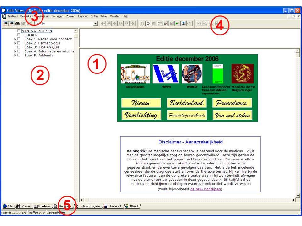 Extra Afbeeldingen Patiëntenvoorlichting (afdrukken!) Het GGR en de Folia Wetenschappelijke bijsluiters Eigen infobase Kopiëren en plakken