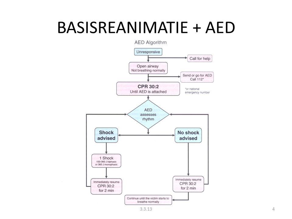 BASISREANIMATIE + AED 43.3.13