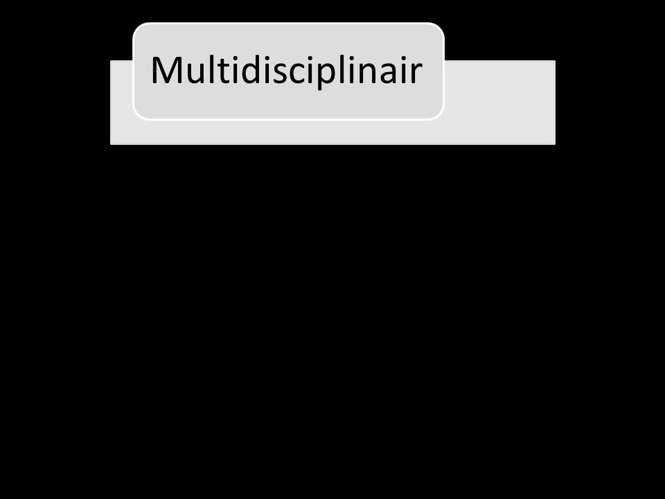 Multidisciplinair