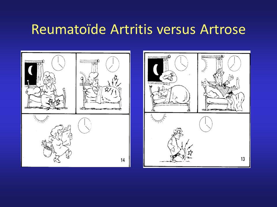 Reumatoïde Artritis versus Artrose