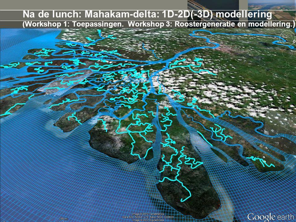 14 juni 2012 3D i : nieuwe werkwijze voor waterbeheer: Nieuw subgrid algoritme voor 2D berekeningen Interactief rekenen + model verkennen (live bodemaanpassingen) Realistische 3D visualisatie