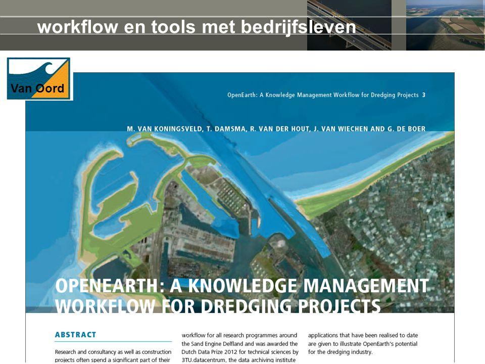 workflow en tools met bedrijfsleven Van Oord