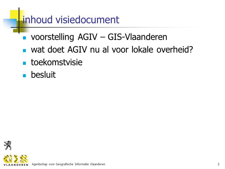 Agentschap voor Geografische Informatie Vlaanderen13 toekomstvisie 2007-2009: focussen op 2 doelstellingen deelnemers stimuleren de GRB- en CRAB-producten te gebruiken deelnemers betrekken in het in standhouden van de kwaliteit van de referentiebestanden GRB en CRAB