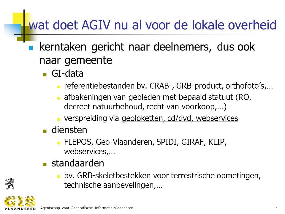 Agentschap voor Geografische Informatie Vlaanderen15 er leven veel vragen… hoe gebruik ik GRB in een RUP.