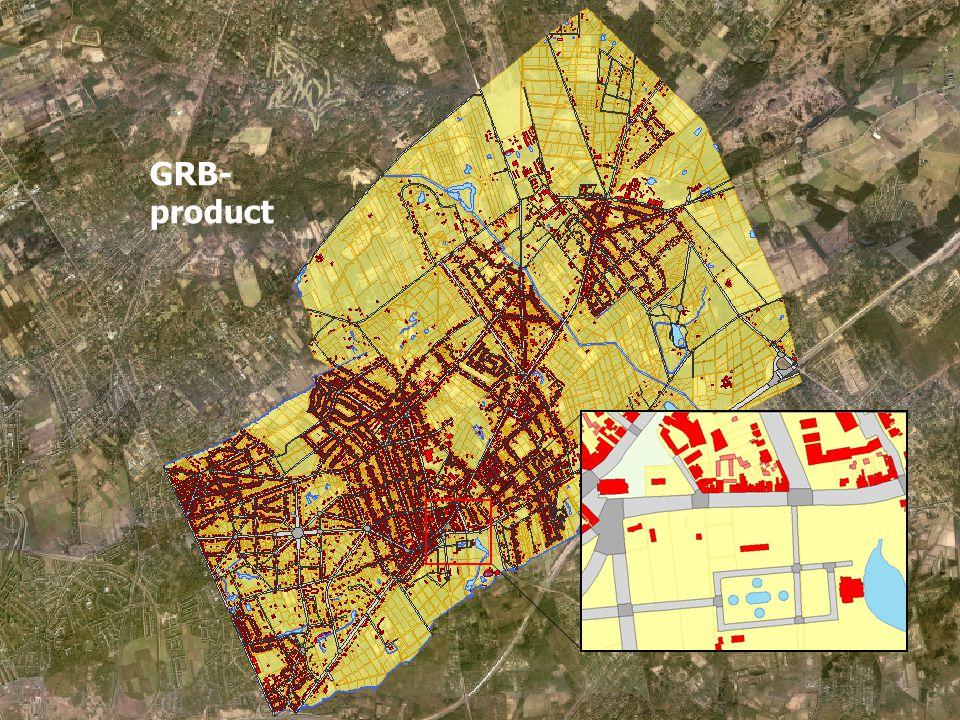 Agentschap voor Geografische Informatie Vlaanderen6 wegbaan GRB- product