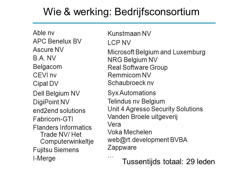 Werkplan WP4: Bedrijfsbezoeken Omvat: Bedrijfsbezoeken Tijdsbesteding: 3 mm Aantal acties: 60 (30 + 30) Bereik: 60 bedrijven