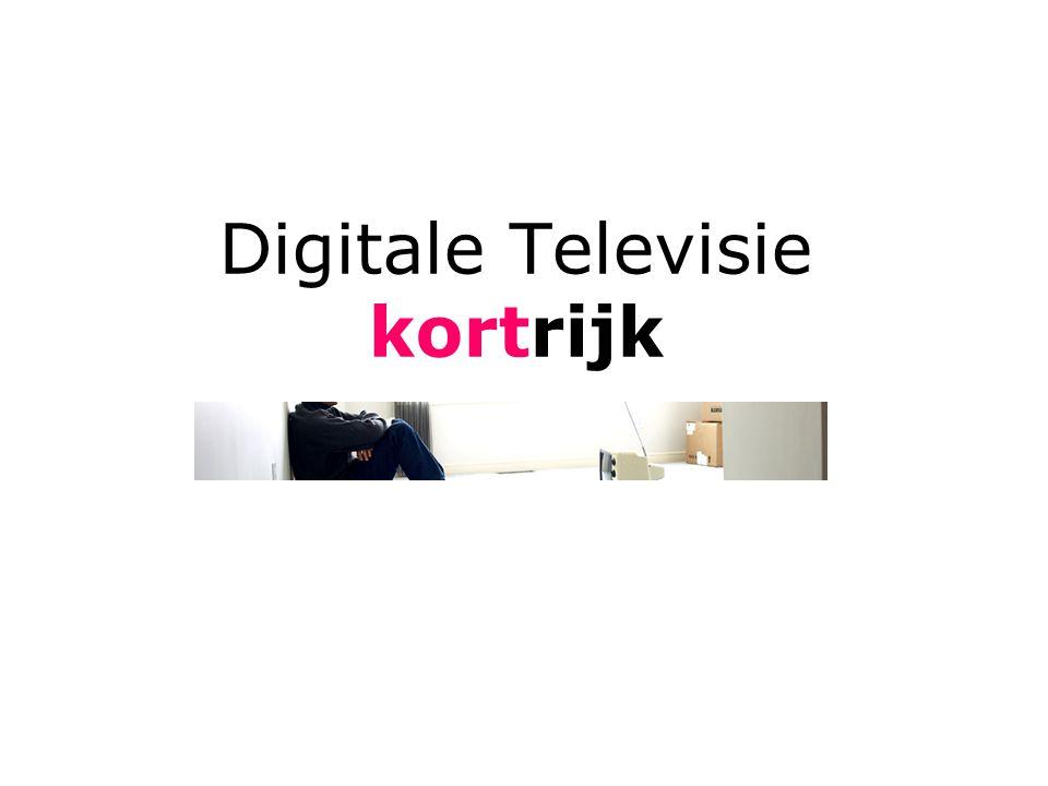 Digitale Televisie kortrijk