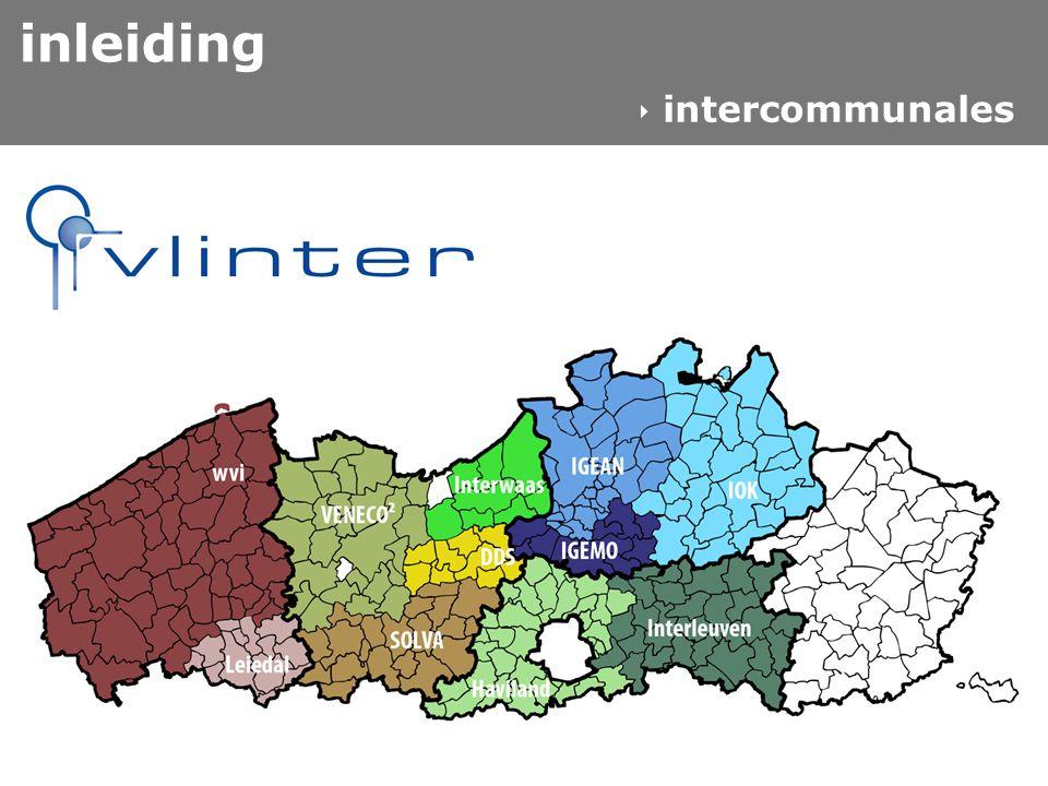 west-vlaamse intercommunale  interne werking