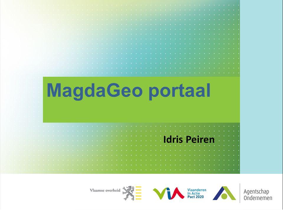 MagdaGeo portaal Idris Peiren