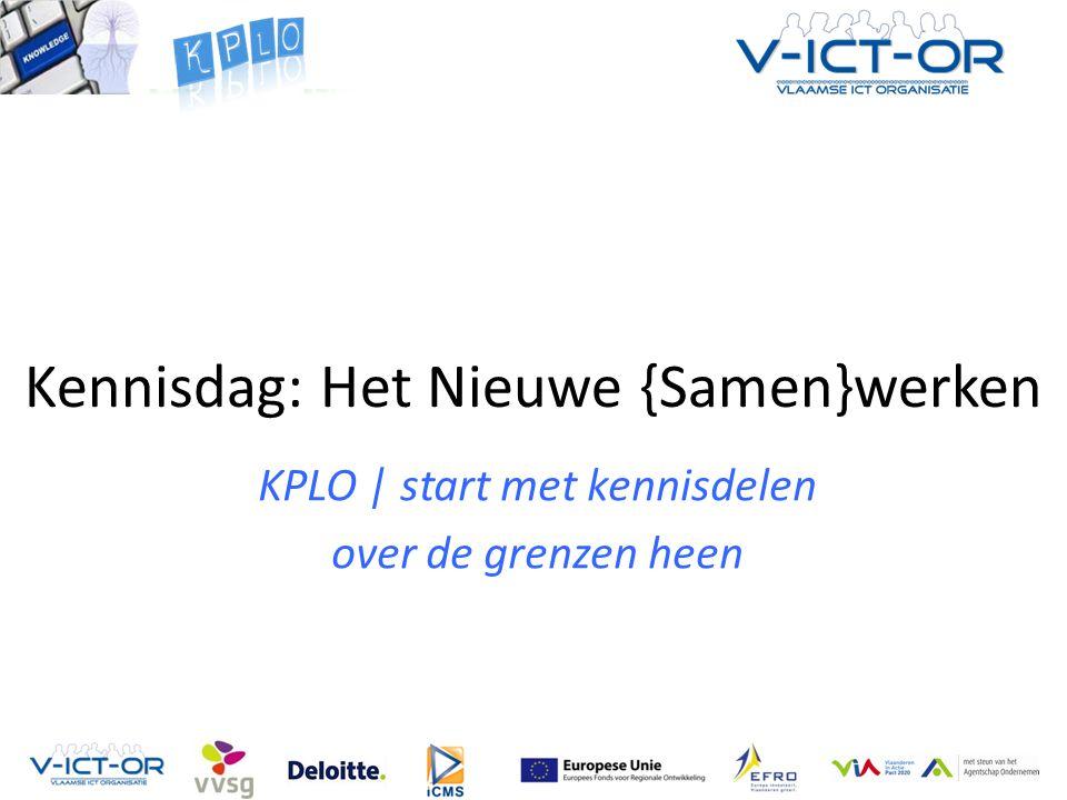 Kennisdag: Het Nieuwe {Samen}werken KPLO | start met kennisdelen over de grenzen heen