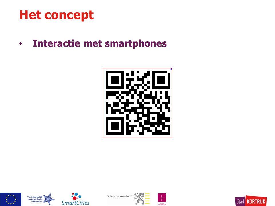 Interactie met smartphones Het concept