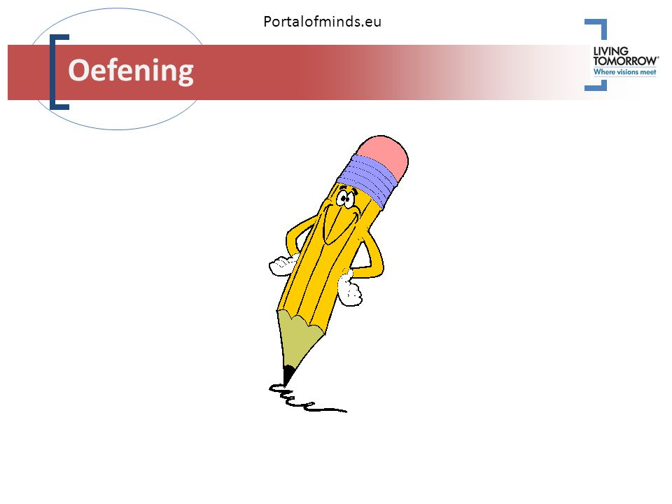 Portalofminds.eu Oefening