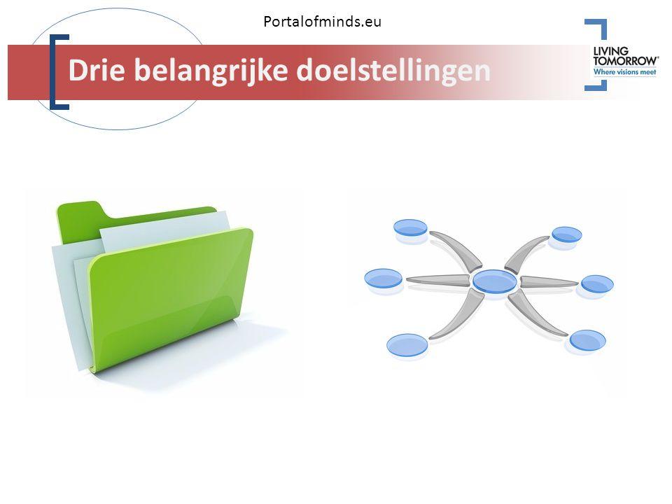 Portalofminds.eu Drie belangrijke doelstellingen