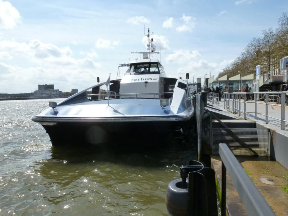 Waterbus naar Dordrecht