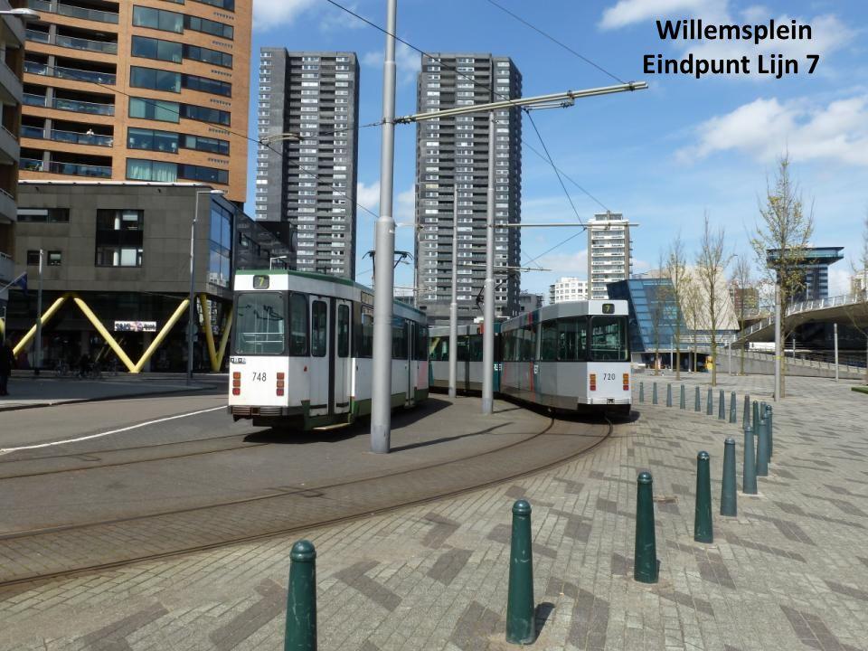 Willemsplein Eindpunt Lijn 7