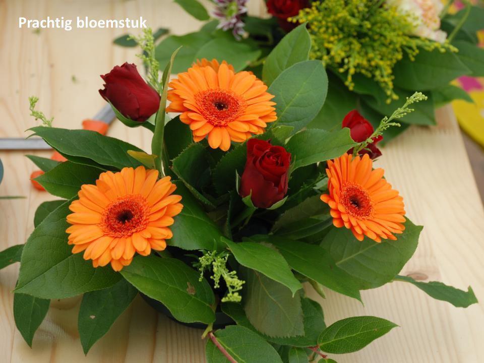 Prachtig bloemstuk
