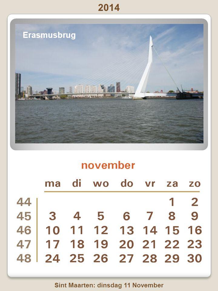 2014 Dierendag: zaterdag 4 oktober Boompjes, door de tuien van Erasmusbrug
