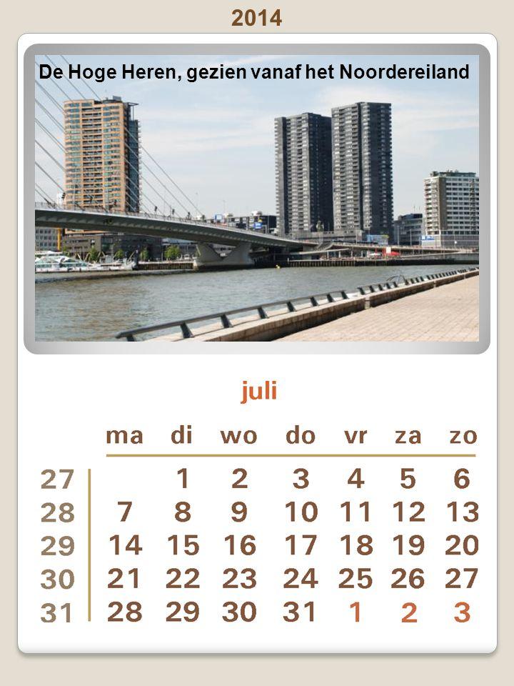 2014 Pinksteren: zondag 8 juni en maandag 9 juni - Vaderdag: zondag15 juni Europoint, gezien vanaf de Nieuwe Maas
