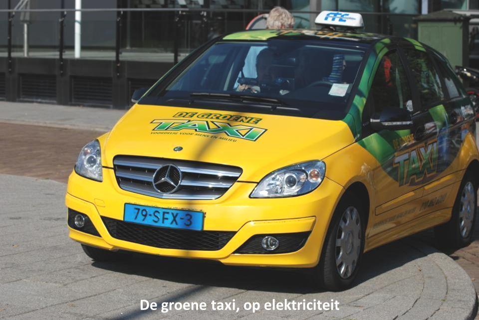 De groene taxi, op elektriciteit