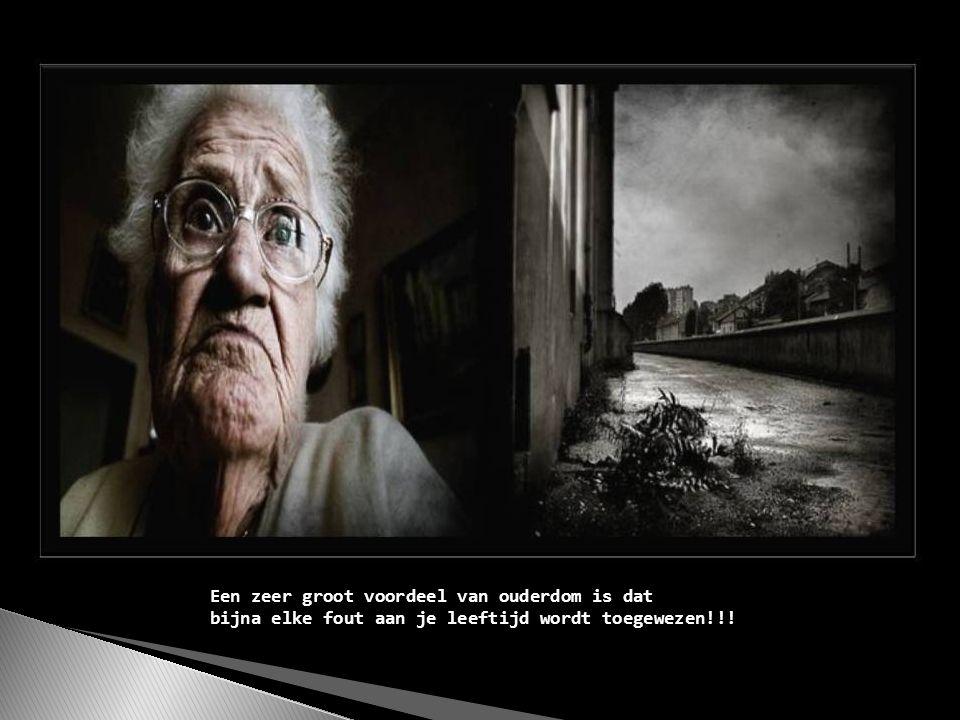 Je wordt oud als je lichaam korter wordt en je verhalen langer....