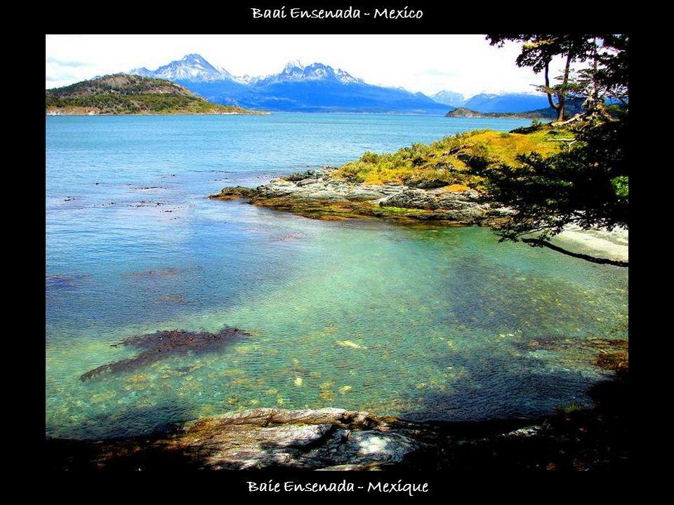 Baie de Ushuaia - Terre de feu- Argentine Baai van Ushuaia - Vuurland - Argentinië