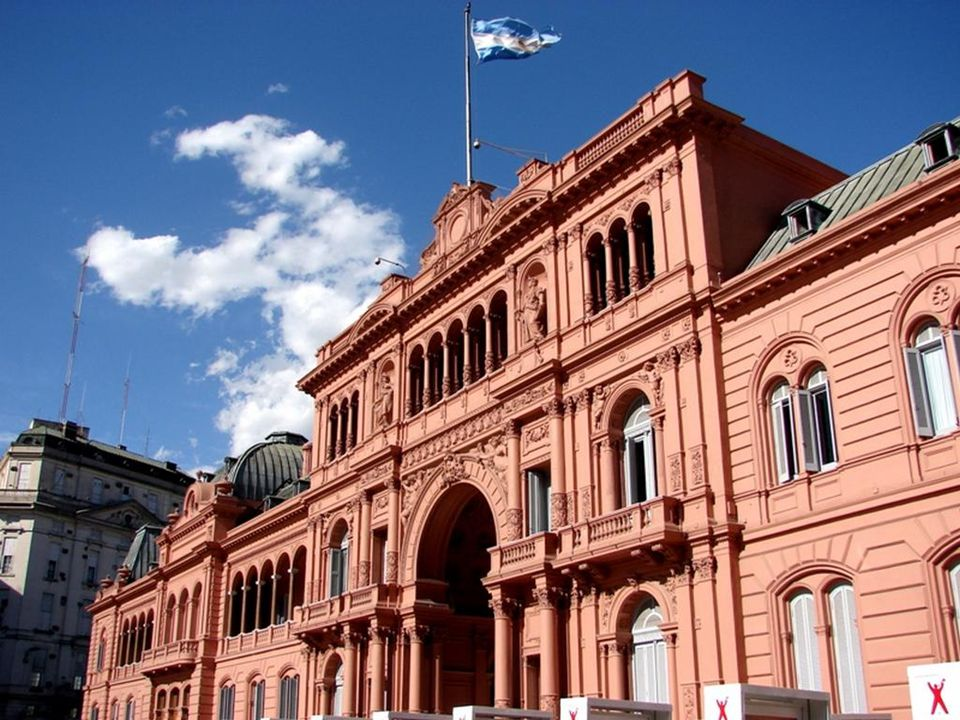 Casa Rosada Roze huis - Buenos Aires (Argentinië) Maison rose – Buenos Aires (Argentine)