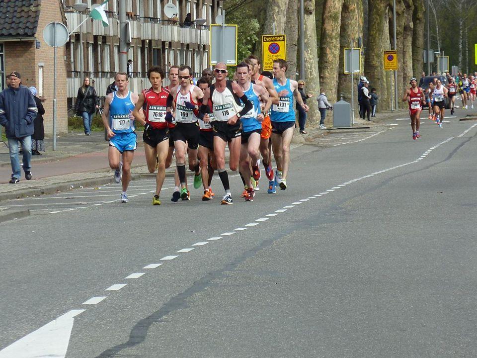 De jeugd heeft ook interesse voor de Marathon