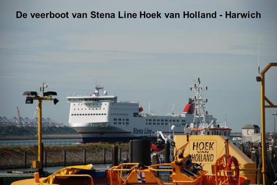 De veerboot van Stena Line Hoek van Holland - Harwich