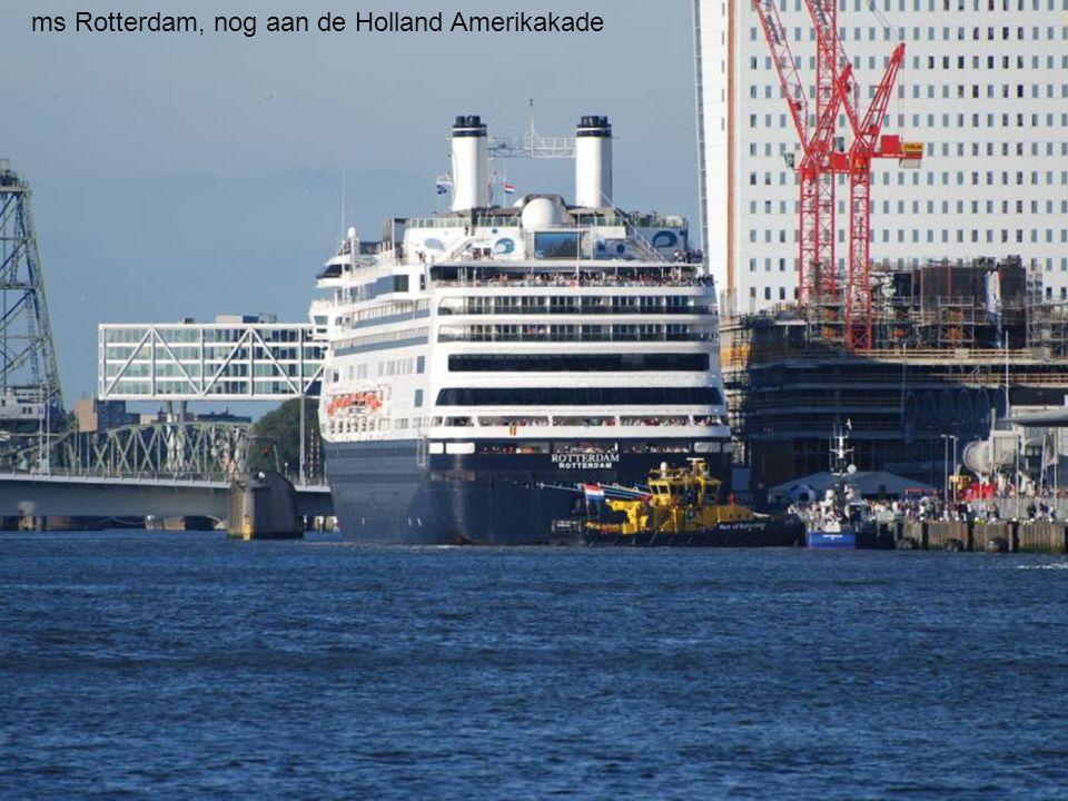 De Holland America Line (HAL) maakt na 40 jaar nog één keer de klassieke oversteek van Rotterdam naar New York.