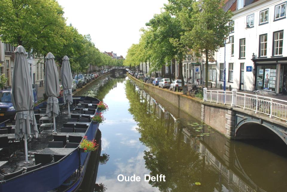 Brug over de Oude Delft