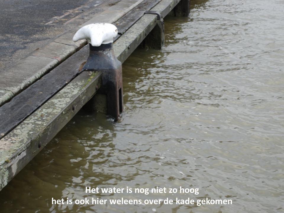 De afvaartsteiger van de waterbus