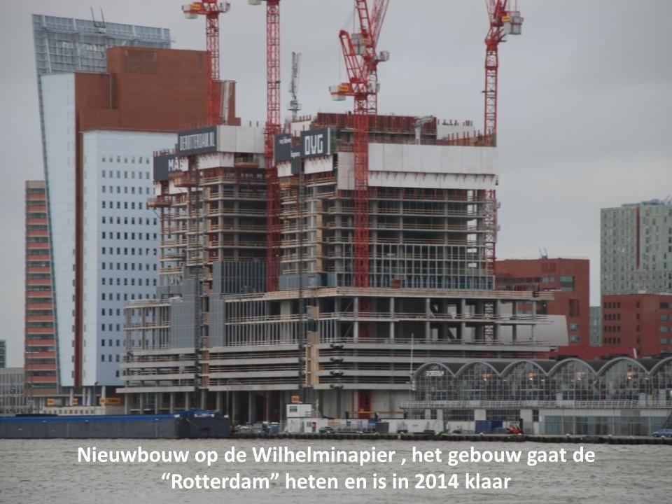 Uitzicht op de Wilhelminapier